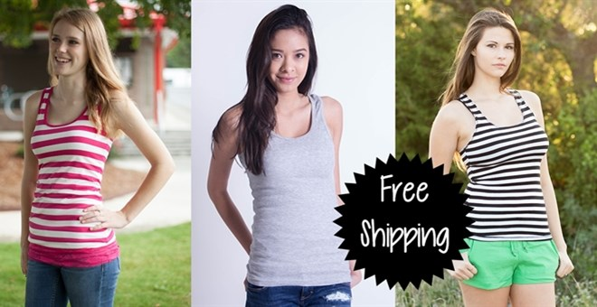Tank Clearance Sale - 3 Styles - FREE SHIPPING!