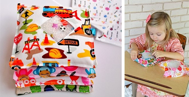 I Spy Bags - Great Travel and Quiet time Toy!