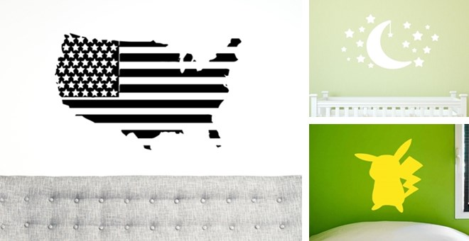 Vinyl Decals For The Home | 4 Styles | Jane