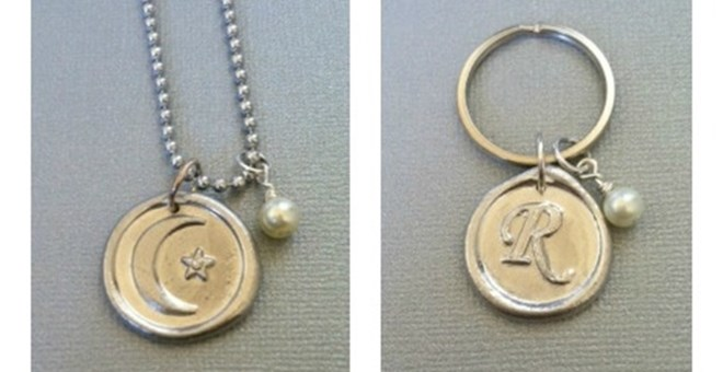 Personalized Monogrammed Pendants- 2 Options!