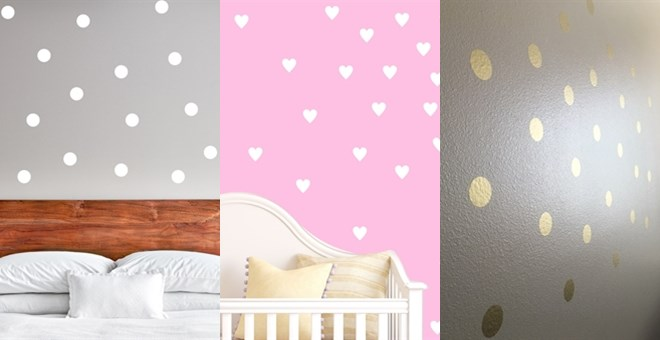 Peel + Stick Wall Decals | Set of 50