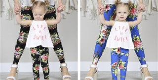 Spring Leggings! / Child sizes too!