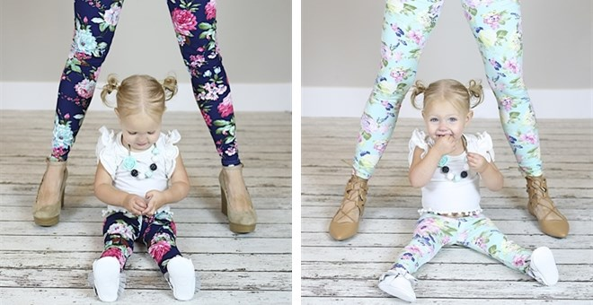 Mommy & Me Matching Leggings | New Adult Sizing!