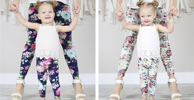 Spring Leggings! | With Child Sizes!
