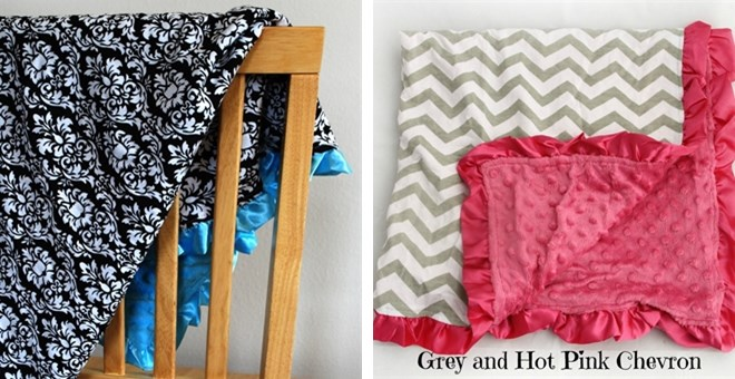 Minky Baby Blankets - New Styles Added!