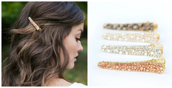 Jeweled Hair Clips | 4 Styles