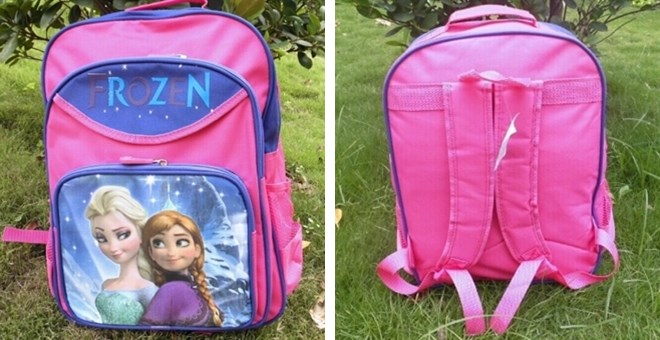 Frozen Backpacks!!!