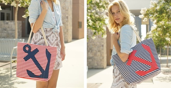 Anchor Tote Bag - 2 Colors