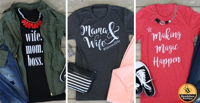 Mommy Tees | 3 Styles | 9 Colors