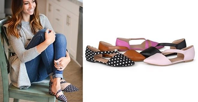 Pointed Toe Cross Strap Flats | 5 Colors!
