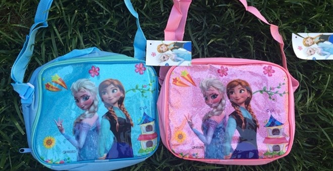 Character Inspired Lunch Boxes/Bags