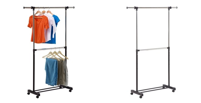 adjustable garment rack free shipping jane
