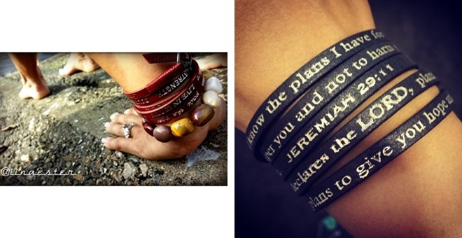 By Popular Demand - Good Work(s) Scripture Bracelets!