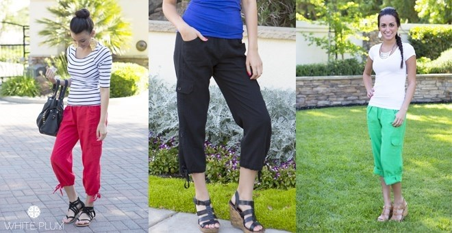 Laguna Linen Capri Pants!  6 Colors!