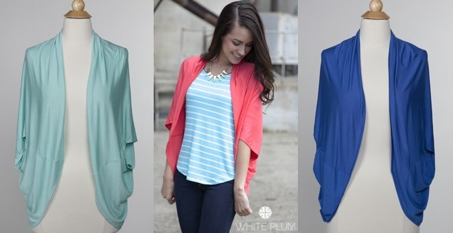 Essential Kimono Cardigan! 5 Colors! Made in USA!