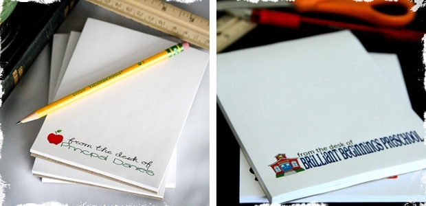 Personalized From The Desk Of Notepads Perfect For