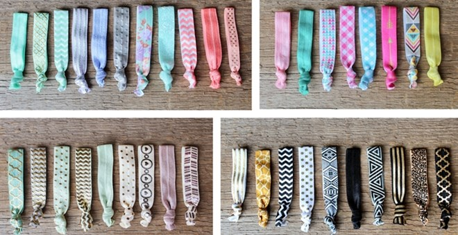 Elastic Hair Tie Grab Bag - Lowest Price!