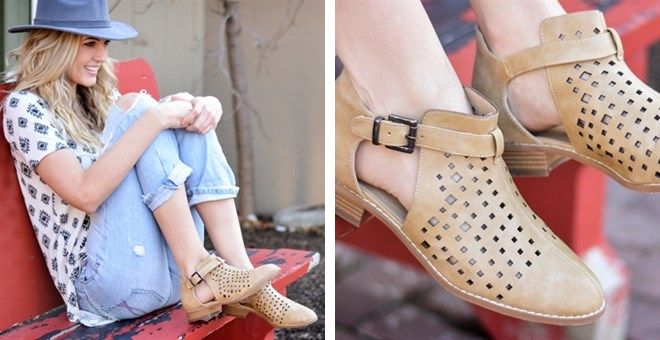 Spring Fashion Booties | 4 Colors!