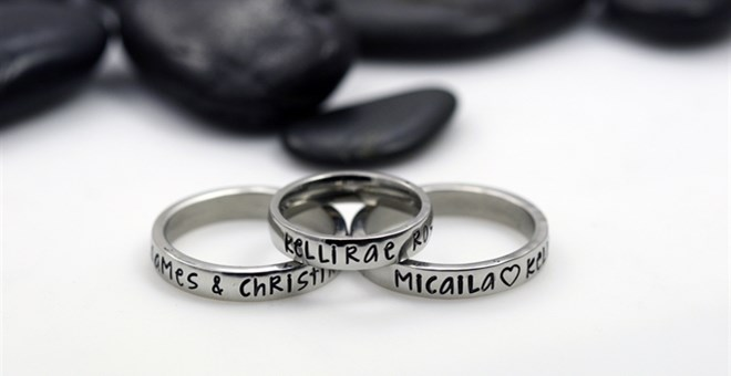 Name Personalized Ring