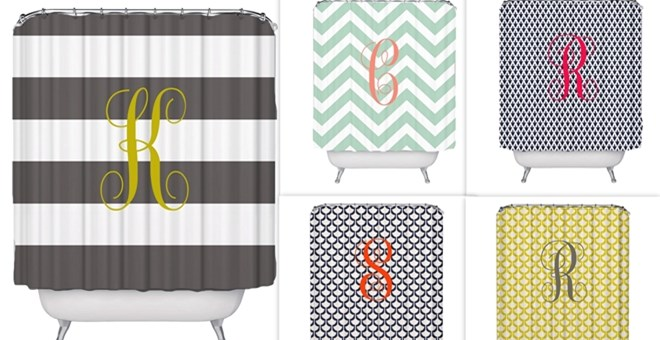 Personalized Shower Curtains Jane