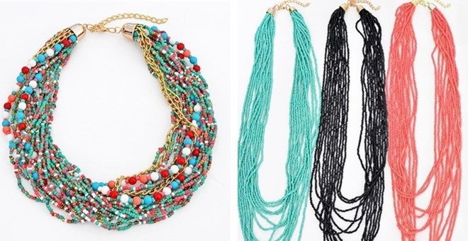 Boho Necklace Blowout / 47 Styles