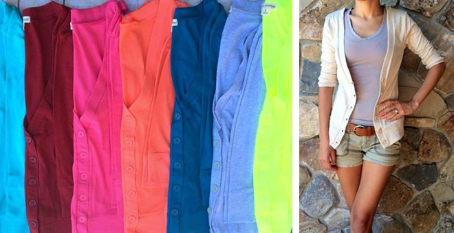 Basic 3/4 Sleeve Cardigan 10 Colors!