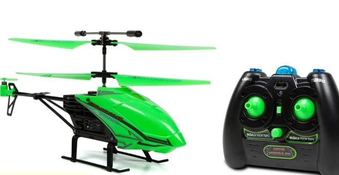 Glow in The Dark Nano Hercules Unbreakable 3.5CH RC Helicopter