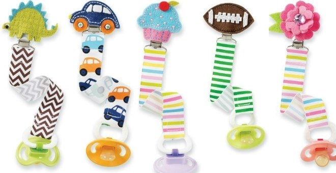 Fashionable Pacifier Clips