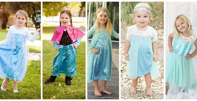 Queen & Princess Inspired Dresses are here!