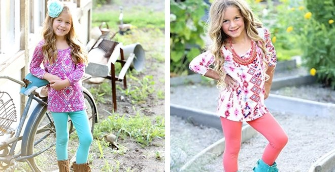 Kids Solid Colored Leggings- 9 colors