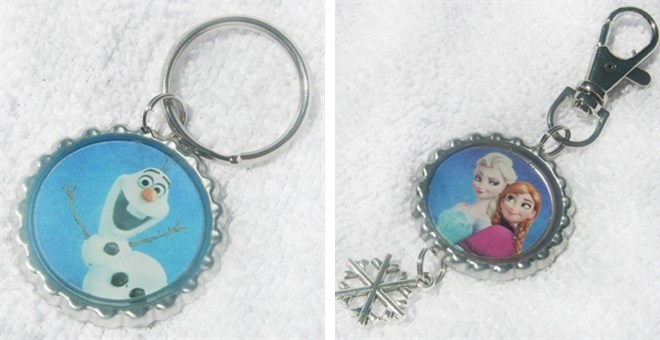 Party Favor Key Chains and Key Charms