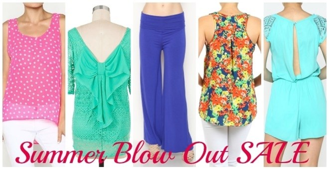 Summer Blowout Sale.....Lots to choose from!