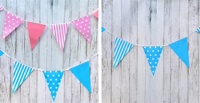 Party Pennant Garland