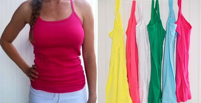 Soft, Stretchy Layering Tanks