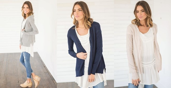 Lightweight Cardigans Clearance | Jane