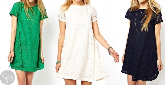 ADORABLE LACE TUNIC!