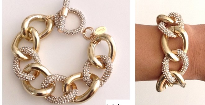 GORGEOUS CRYSTAL STATEMENT BRACELET
