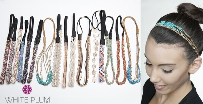 Elastic Fashion Headbands!  8 Designs Available!