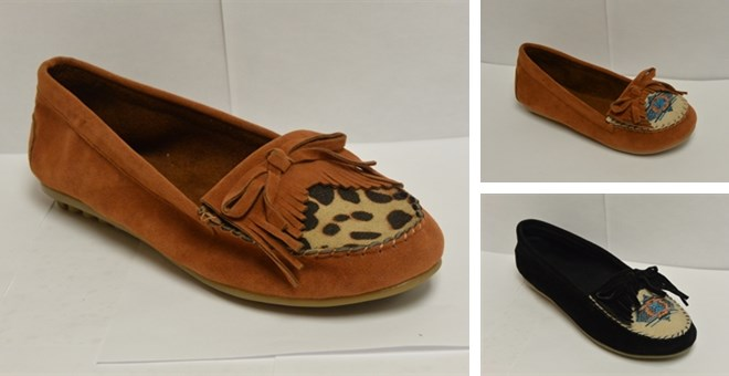 NEW!!!! Infants & Girls Moccasins! 4 Assorted Styles!