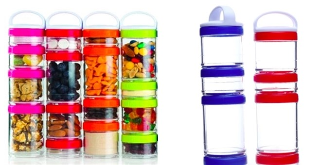 Stackable Bottle for On The Go!