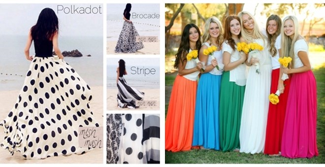 GORGEOUS FLOWY CHIFFON MAXI SKIRTS! | Jane