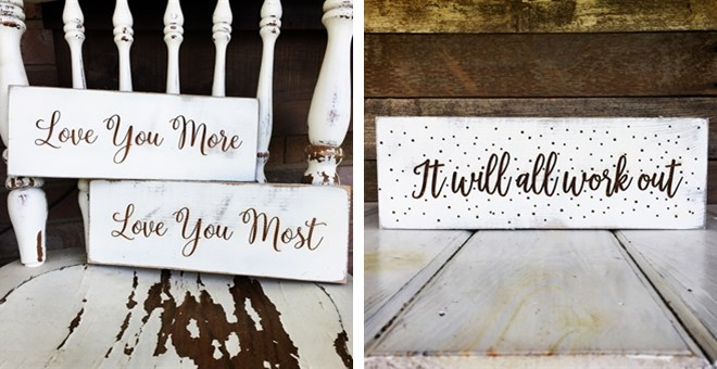 12 99 Inspirational Wooden Signs Free Shipping Bargains To Bounty