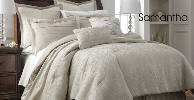 Treat Yourself To Beautiful Bedding 8 Piece Comforter Set