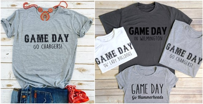 Custom Game Day Shirts