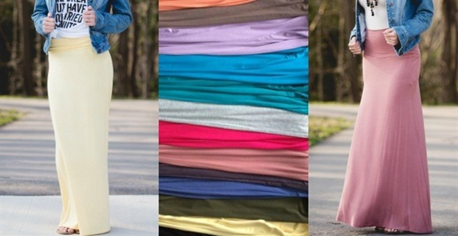 Everyday Maxi Skirts / 13 Colors!