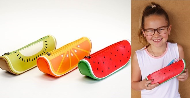Back To School Fruity Pencil Cases