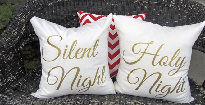 Elegant Christmas Pillow Covers 18x18 Jane