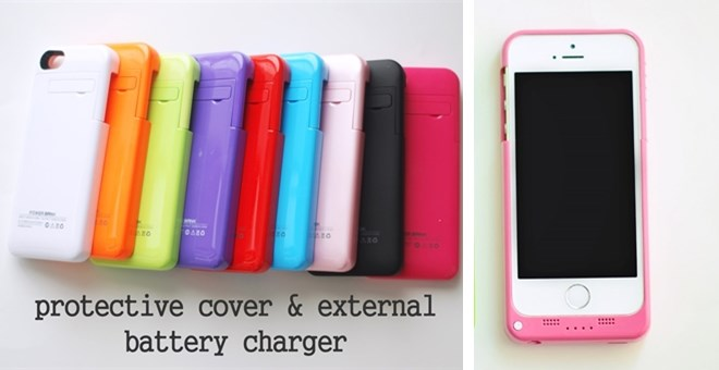iPhone 5/5s Protective Battery Case! 9 Colors! : Jane