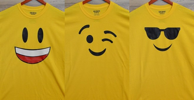 08d66944 Jane has these Emoji T-Shirts for $9.99 + $2.99 shipping = just $12.98,  shipped! My girls want the sleepy tee (emoji #5) as nightshirts!