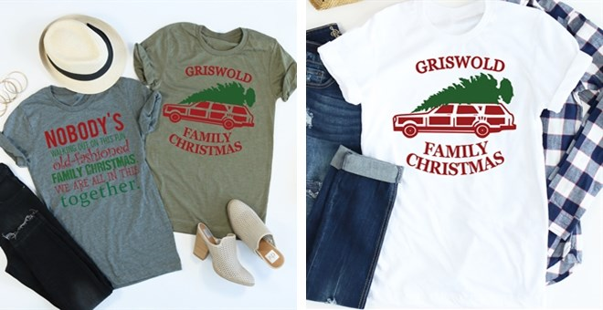 4ff87f8b2 Griswold christmas vacation t shirt